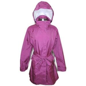 Patagonia XL Torrentshell Trench Coat in Pink